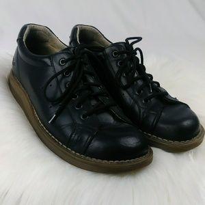 Doc Martens Low Oxford Black Leather Shoes Men's